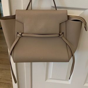 Celine mini belt bag in taupe